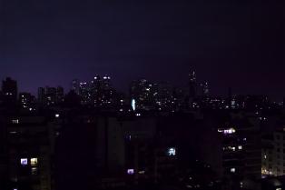 Buenos Aires at night