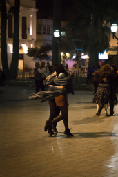 Tango in the square!