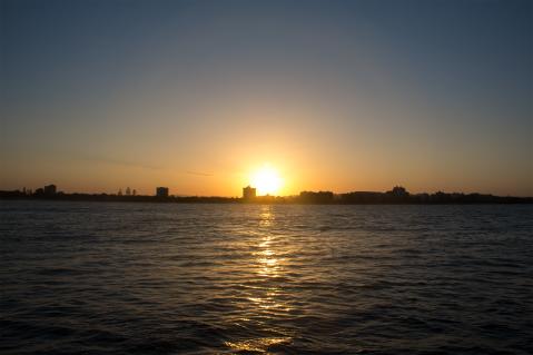 Perfect sunset.