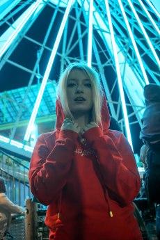 Under the Ferris.