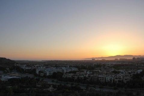 May 31. LMU sunset.
