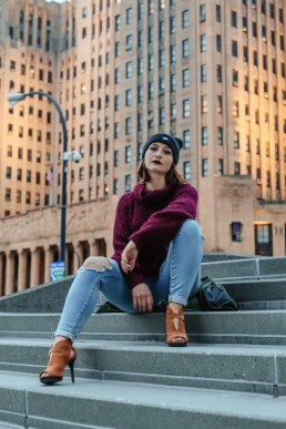 Sittin' tall by City Hall.