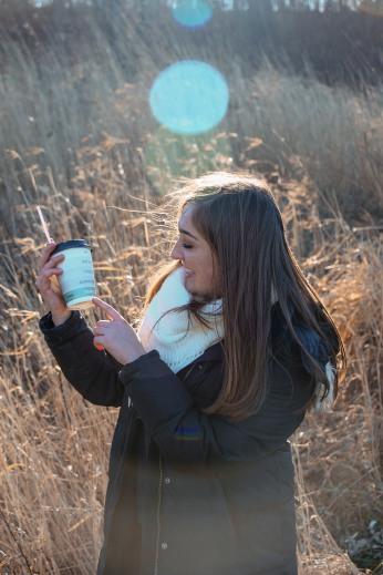Rachel + Coffee.