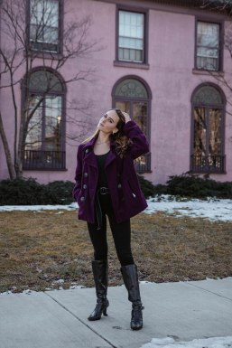 """""""This house matches my coat!"""""""