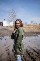 Muddy mud.