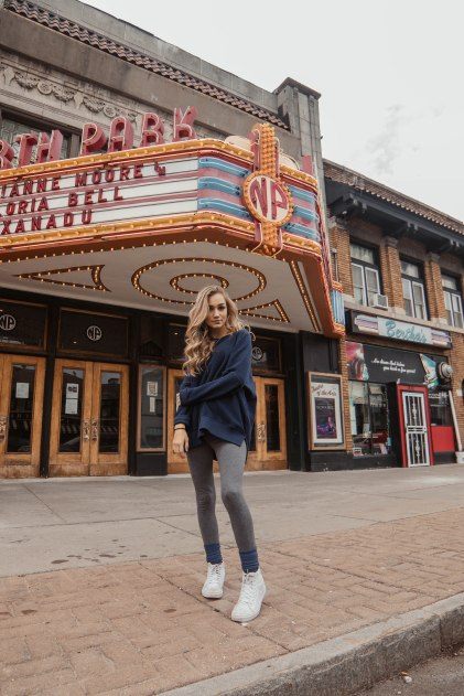 North Park Theatre (best said with a Brit accent).