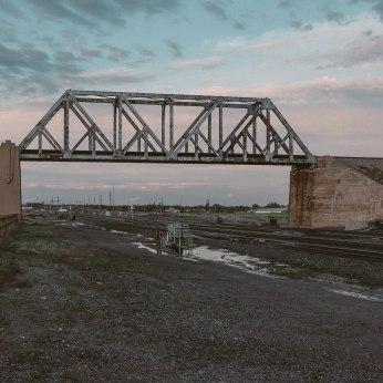 Cheyenne. Train bridge.