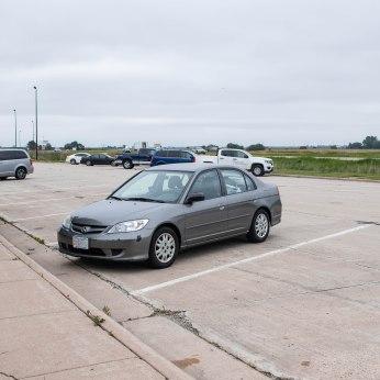 I-90 West. Rest stop.