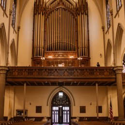 St. Louis - the organ.