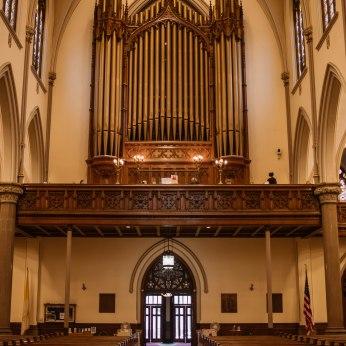 St. Louis - the organ.