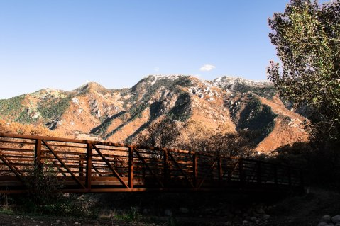 View of the Wasatch Range.