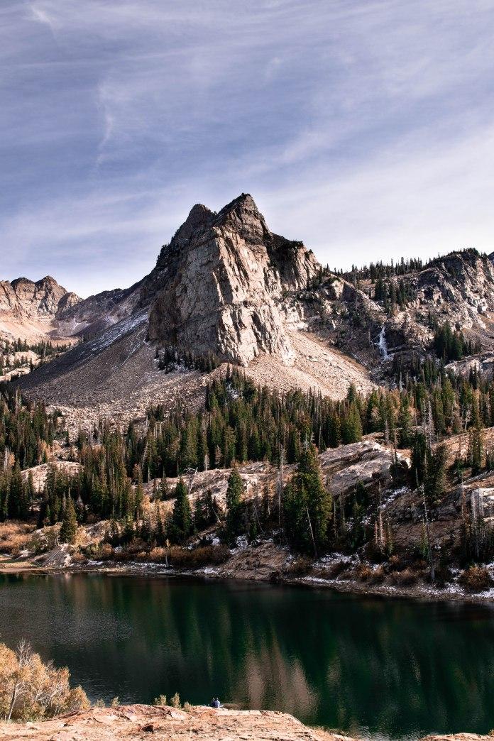 October 13. Lake Blanche. Utah.