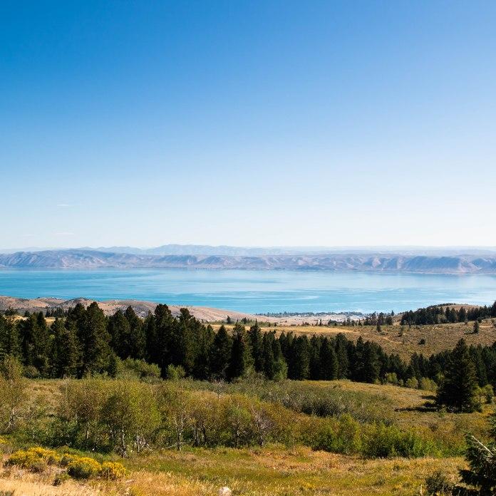 August 8. . Bear Lake. Utah