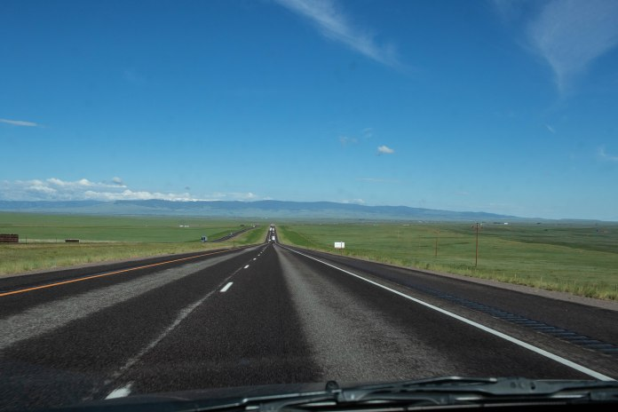 June 17. I-80. Wyoming.