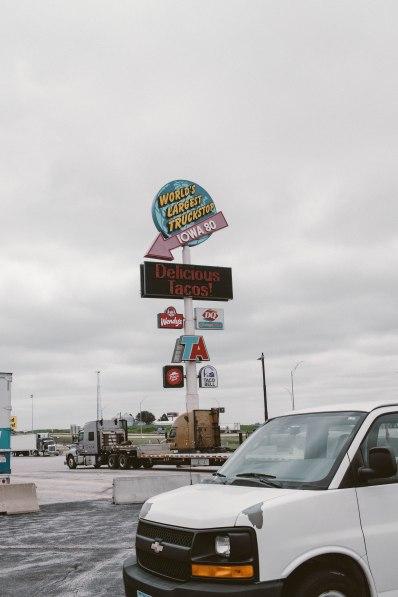 June 17. Iowa I-80.