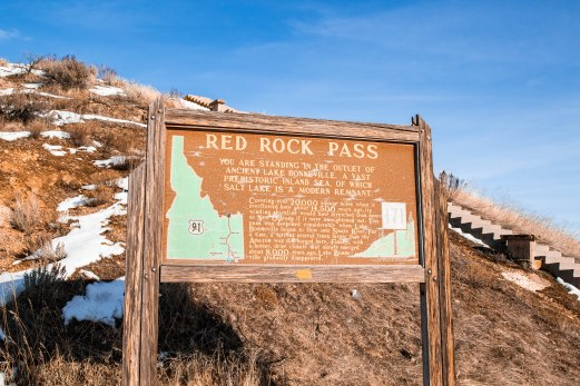 Red Rock Pass in Idaho.