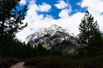 Lone mountain.